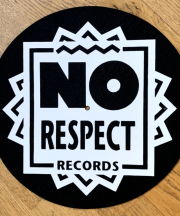 No Respect Records Slipmat
