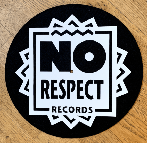No Respect Records Slipmat